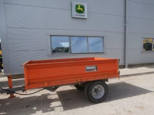 Wessex 1.5T Tipping Trailer  for sale
