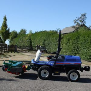 Iseki SF370 Out Front Commercial Mower. for sale