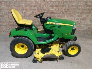 John Deere X748 Ride on Diesel Mower for sale
