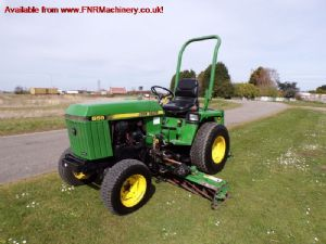 JOHN DEERE 855 TRACTOR WITH MOWER DECK for sale