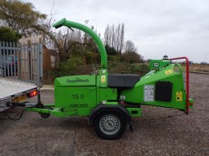 GREENMECH ARBORIST 150 WOODCHIPPER (TOWED) for sale