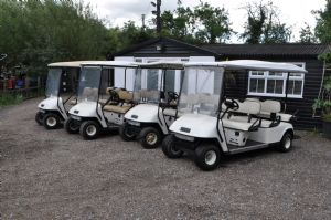 EZGO 6 Seater Golf Buggies Electric and Petrol for sale