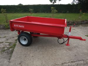 New Tomlin 1.25t Tipping Trailer for sale