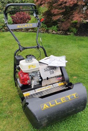 Allett Shaver 20 Mower for sale