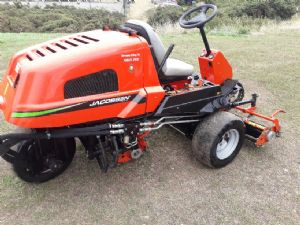 Jacobsen greensking 6. Greentek thatchaway and sarrel rolls for sale