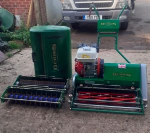 Dennis ft 610 mower and cassettes  for sale