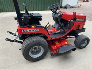 MASSEY FERGUSON GC2300 RIDE ON MOWER DIESEL for sale