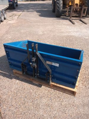 Used Manual Tip Transport Box for sale