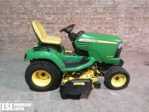 John Deere X748 Diesel Ride On Mower for sale