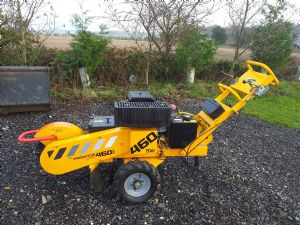 Predator 460 Turntable Stump Grinder for sale