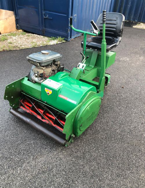 Ransomes Mastiff ride on cylinder mower for sale