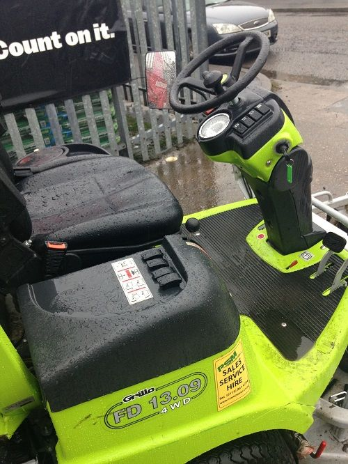 Grillo FD1309 Out Front Rotary Mower with Collection for sale