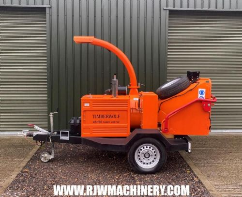 Timberwolf TW190TDH Turbo Vortex wood chipper, year 2007 ~ 1717hrs for sale