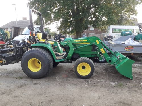 John Deere 3036e complete with loader  for sale