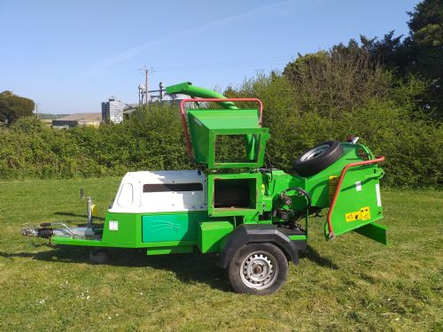 Greenmech 150 Eco combi Chipper and Shredder for sale