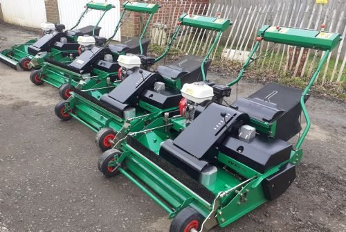Dennis R34 clean up mowers for sale