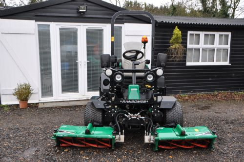 2012 Parkway3 Triple Cylinder Ride on Mower 650 hours for sale