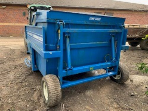 versatile 2003 flail and cut collector for sale