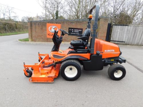 Kubota F3890 mower, 2016 model for sale