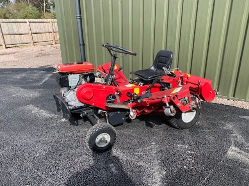BARONESS LM180C RIDE ON MOWER triple saxon allen national petrol engine for sale