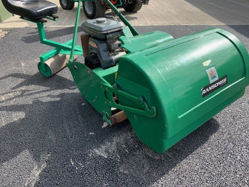 RANSOMES MASTIFF 36 RIDE ON MOWER with seat roller kubota engine for sale