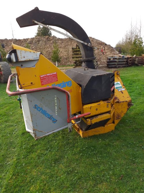 Schliesing 300ZX PTO Woodchipper for sale